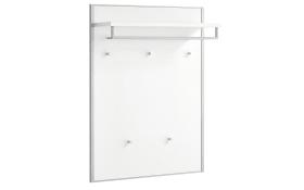Garderobenpaneel Limana in weiß