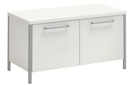 Garderobenbank Limana in weiß