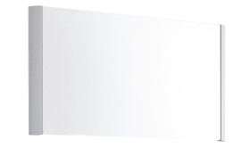 Spiegel Studio in Alu-Optik, 94 x 57 cm