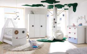 Babyzimmer Minimo in weiß