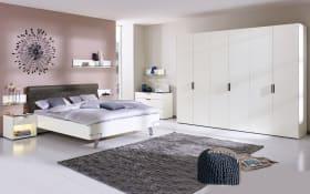 Schlafzimmer Fena Lack weiß