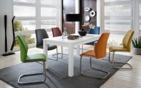 Stuhlgruppe 3821/3973 in bunt/weiß