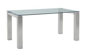 Esstisch Palma in grau/klar