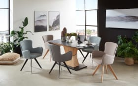 Stuhlgruppe Avalon/Skyline aus Charaktereiche/Granit