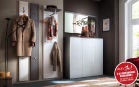Garderobenkombination Stelvio in Kastanie-Graphit-Dekor