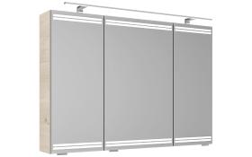 Spiegelschrank Pineo in Pinie Ida-Optik