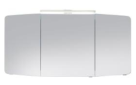 Spiegelschrank Cassca in graphit Struktur-Optik