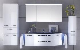 Bad-Einrichtung Solitaire 7005 in weiß