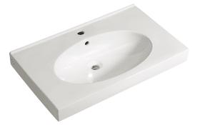 Keramikwaschtisch Mare in weiß
