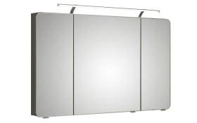 Spiegelschrank Fokus 4005, Korpus in steingrau, 120 cm breit