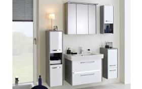 Badeinrichtung Fokus 3050 in weiß/Betonoptik