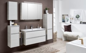 Badeinrichtung Solitaire 6040 in Eiche weiß-Optik