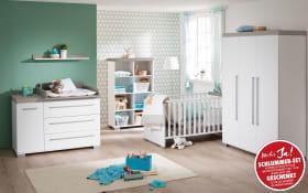 Babyzimmer Kira in kreideweiß/Eiche-Nautik-Optik