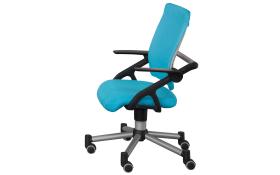 Schreibtischstuhl Schoolworld in azurblau