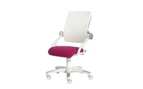 Schreibtischstuhl Yvo brombeer/weiß