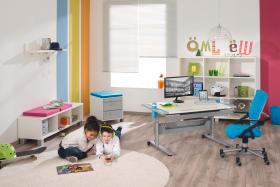 Schreibtisch Schoolworld in weiß