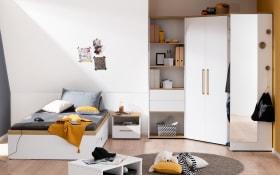 Jugendzimmer Oscar in kreideweiß