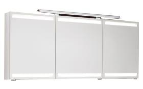 Spiegelschrank b.straight in weiß Hochglanz