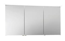 LED-Spiegelschrank Slim Line in Lack carbon Hochglanz