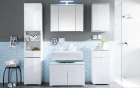 Waschbeckenunterschrank Spice in weiß
