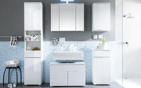 Badezimmer | {Waschtisch mit unterschrank stehend mit spiegel 55}