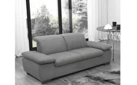 Garnitur Milan in grau, 2-Sitzer