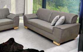 Sofa 2-Sitzer Bianca in grau