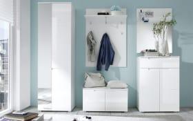 Garderobe Spice in weiß