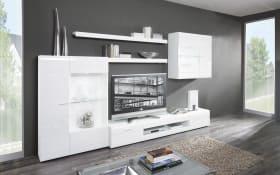 Wohnwand Carero 1 in weiß