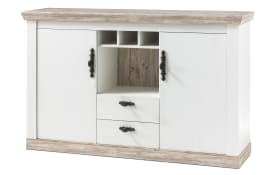 Sideboard Florence in Pinie weiß Optik/Oslo Pinie Optik