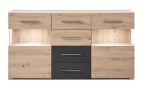 Sideboard Space Eiche Artisan/grau