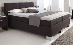 Boxspringbett Boston (Lincoln) in anthrazit