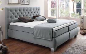 Boxspringbett Chester in anthrazit
