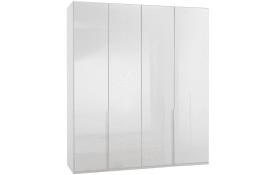 Drehtürenschrank New York D in weiß, Breite 180 cm