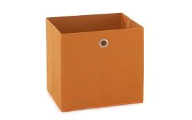 Aufbewahrungsbox in orange, 32 x 32 cm