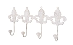 Garderobenleiste Bea 4 in antikweiß