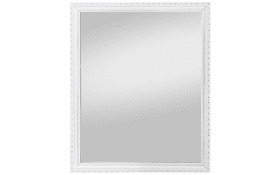 Rahmenspiegel Lisa in weiß, 45 x 55 cm
