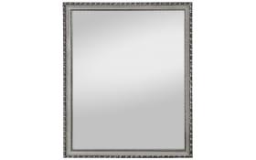 Rahmenspiegel Lisa in Silberfarbig, ca. 34 x 45 cm