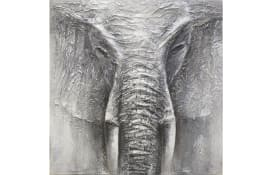 Leinwandbild Original Rimbo, Motiv: Elephant, 100 x 100 cm