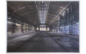 Gerahmtes Bild Taira mit Motiv: factory, 100 x 140 cm