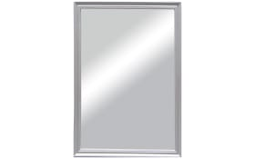 Rahmenspiegel Paulina in Silber-Optik, 50 x 70 cm