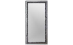 Holzrahmenspiegel Alice in Silber-Optik, 100 x 200 cm