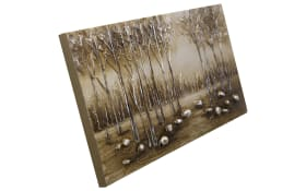 Leinwandbild Original Nesto, Motiv: wood, 40 x 80 cm