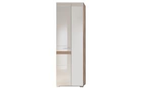 Garderobenschrank Set One in weiß/San Remo Eiche-Optik