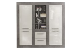 Highboard Pure in Beton-Optik