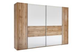 Kleiderschrank San Marino in weiß/Wildeiche-Optik