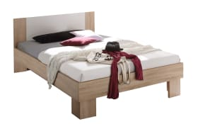 Futonbett Martina 22-119-68 in Sonoma Eiche-Optik, 140 x 200 cm