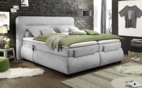 Boxspringbett Evolution 3 in silver