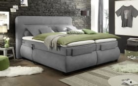 Boxspringbett Evolution 3 in dark grey