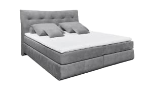 Boxspringbett Waterford 2 in dark grey